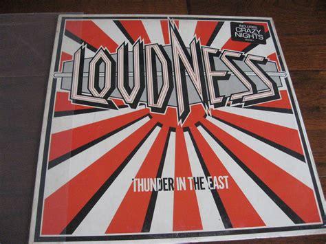 Vinyl Loudness Thunder popsike loudness record sealed lp thunder in the