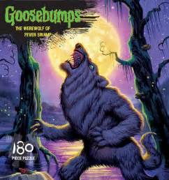 goosebumps 174 puzzle werewolf fever swamp outset media games