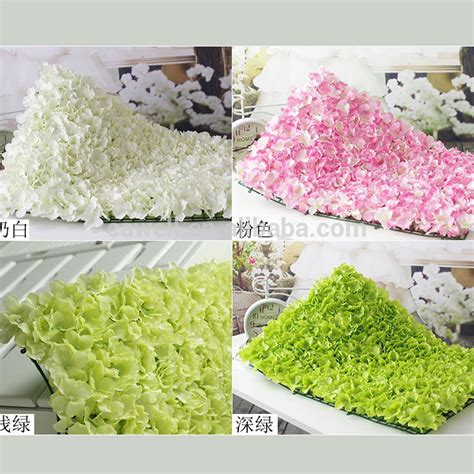 wedding decoration backdrop silk artificial flower wall