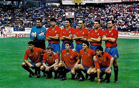 selecci 243 n colombia tendr 237 a su formaci 243 n confirmada para jugar ante chile por eliminatorias hsb seleccion de brasil 1994 equipos de f 218 tbol espa 209 a selecci 243 n 1990 1994