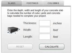 concrete foundation cost calculator