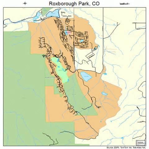 map of park county colorado roxborough park colorado map 0866197