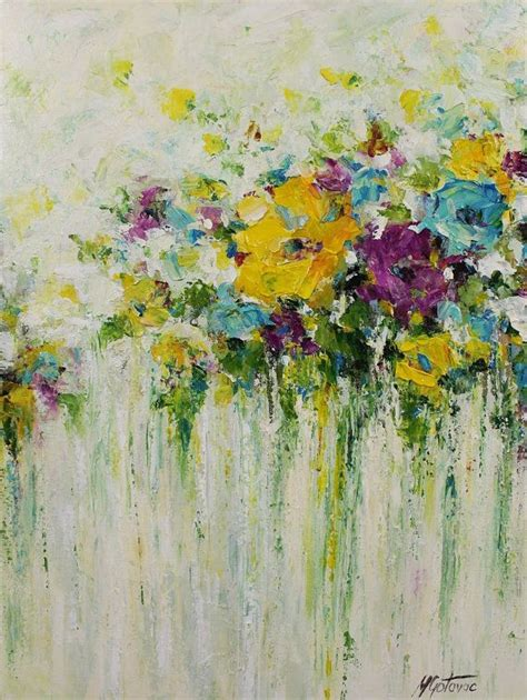 is acrylic paint ok on canvas 25 best ideas about acrylic painting flowers on