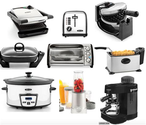 small appliances kitchen black small kitchen appliances quicua com
