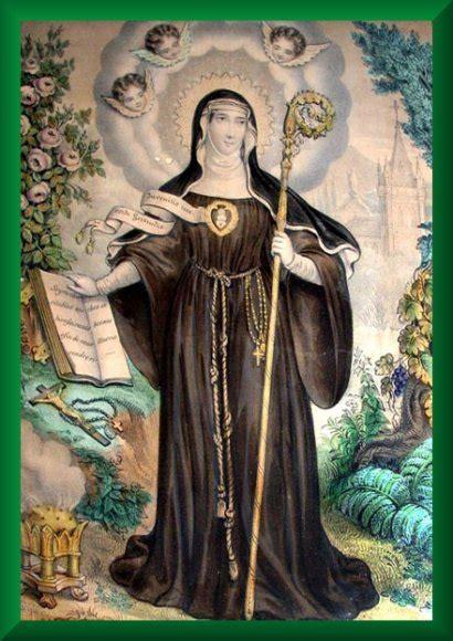 imagenes de virgenes catolicas y sus nombres santa gertrudis la magna virgen vidas de los santos de