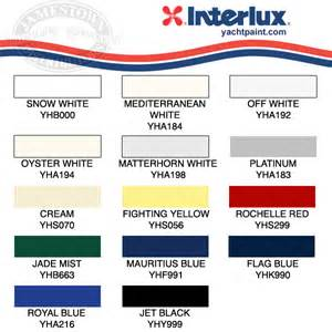 interlux brightside colors chris craft commander forum lancer update boat has been