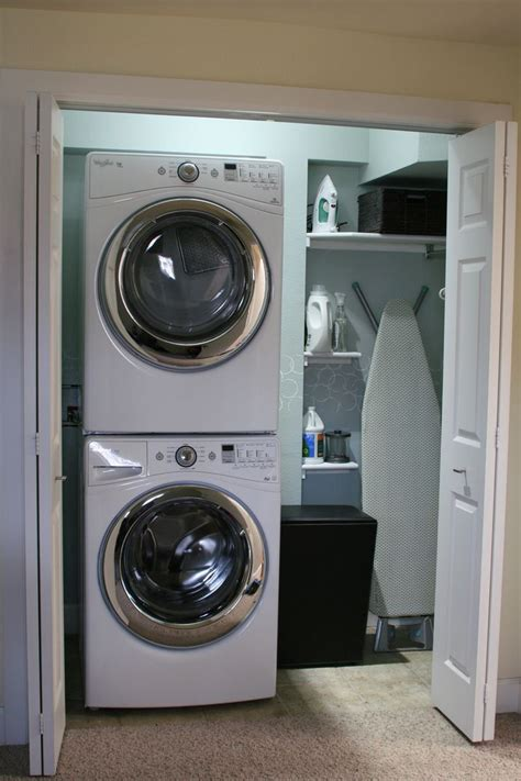 washing machine and dryer cabinets 1000 images about stacking washer dryer on