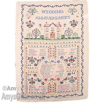 Anniversary Tea Towel Wedding Anniversaries Irish Linen