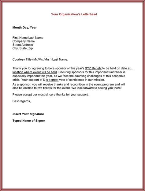 Housing Sa Support Letter Template 8 Thank You For Your Support Letter Academic Resume Template