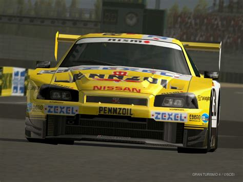 nissan gran turismo racing pennzoil zexel gtr from gt4 by notoothus on deviantart