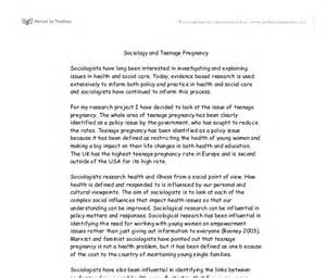 Underage Essays by Pregnancy Essay Homeless Essay