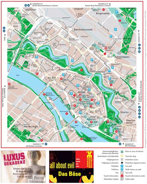 bremen city map large bremen maps for free and print high