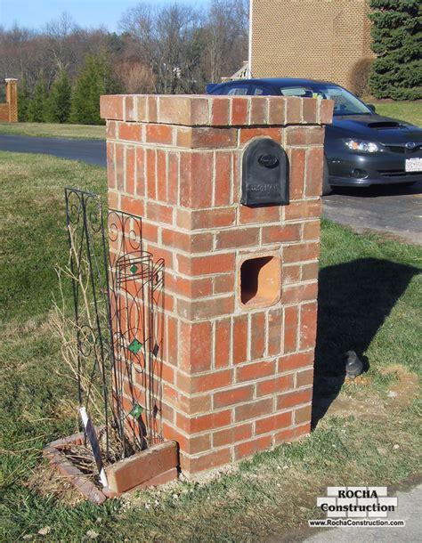 how to decorate a square brick mailbox for christmas enchanting design home brick mailboxes exterior razode home designs gallery