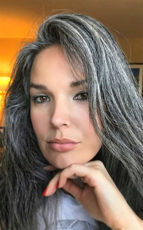 salt n pepper hair color 1000 ideas about going gray on pinterest short gray