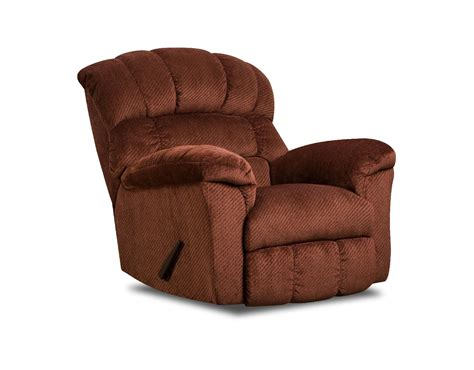 Burgundy Recliner by Simmons Upholstery 558 Recliner Victor Burgundy