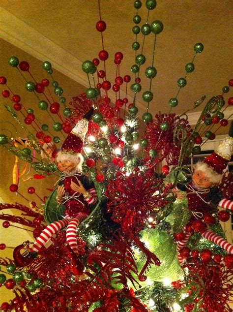 25 best ideas about unique christmas tree toppers on