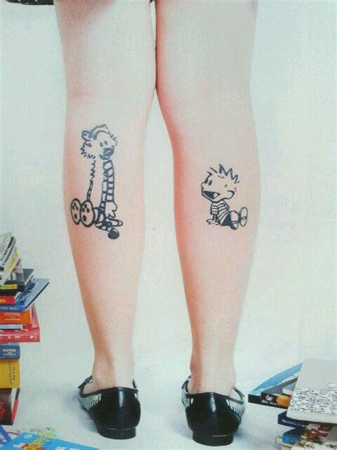 calvin and hobbes tattoo my calvin and hobbes tattoos photo by matheus brito