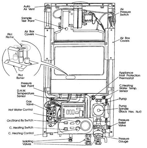 baxi boiler schematics central heating wiring diagrams