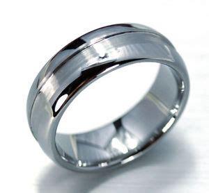 luxury tungsten carbide scratch proof wedding ring
