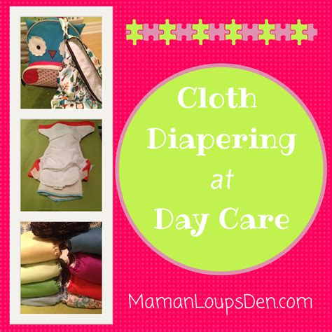 We Care Diapers by How We Cloth At Day Care