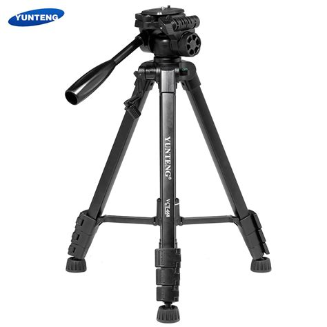 Tripod Camcorder yunteng vct 668 portable dslr camcorder tripod kit with support 360 degree