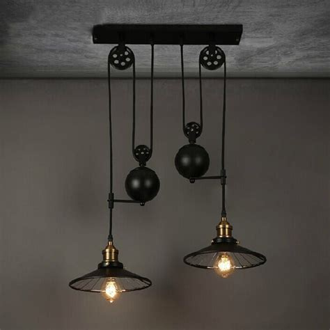 beleuchtung retro get cheap pulley light fixtures aliexpress