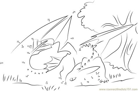 dot to dot dragon printables toothless see back dot to dot printable worksheet