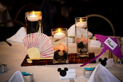 Ultimate Disney Weddings Centerpieces   Part One   This