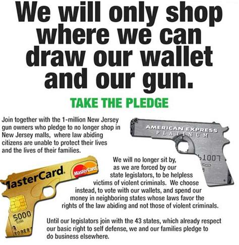 Garden And Gun Owner Incendiary Image Of The Day Nj Gun Owners Boycott