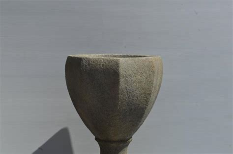 Urn Planters On Sale by Cast Cement Octagonal Planter Urn On Pedestal For Sale At 1stdibs