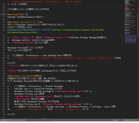 sublime text 3 themes markdown sublime text で markdown sonoshouのまじめなブログ
