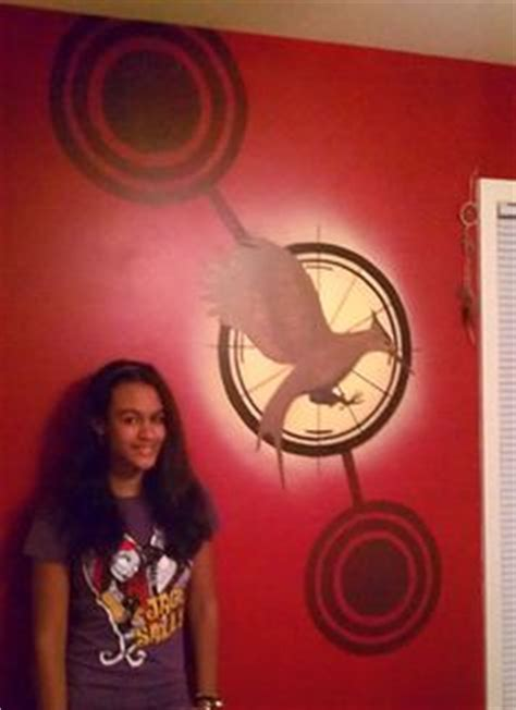 the hunger games themed bedroom 1000 images about hunger games room on pinterest