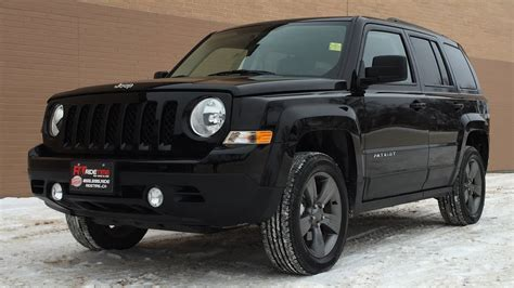 Jeep Patriot High Altitude 2015 Jeep Patriot High Altitude 4wd Leather Sunroof