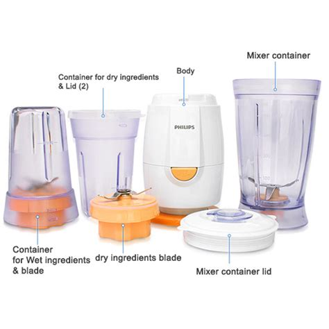Blender Mini Philips philips mini blender hr2860 0 4l plastic jar home mixer