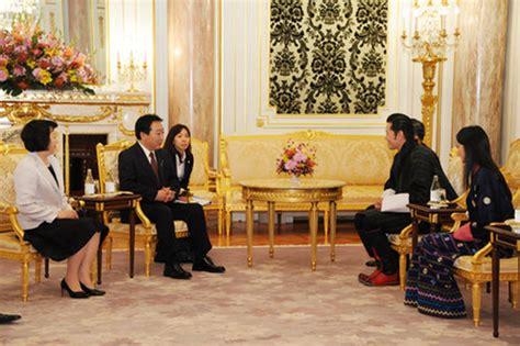 Mofa Bhutan by 外務省 野田総理大臣夫妻によるブータン国王王妃両陛下への表敬 概要