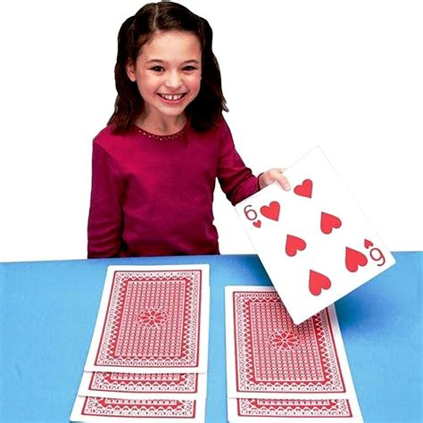 printable giant deck of cards jumbo playing cards 8 x 12 inch giant size and print new