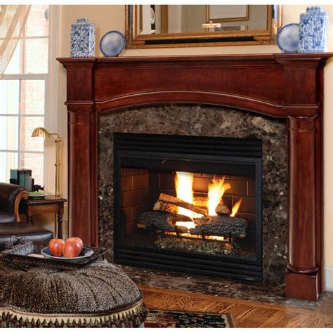 Wood Fireplace Surrounds by Pearl Mantels Princeton Wood Fireplace Mantel Surround