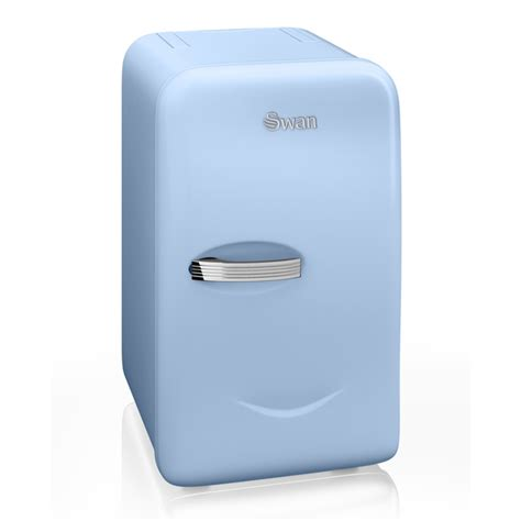 Small Energy Efficient Homes swan sre10010bln retro mini fridge blue iwoot