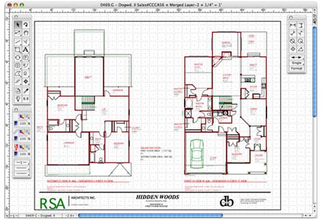 2d home design freeware macdraft professional mac os x home design software