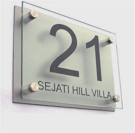 Acrylic Nomor Rumah aditya production jakarta buka 24 jam jasa buat acrylic