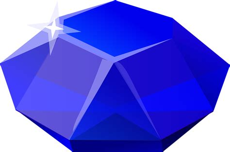 home design free gems free vector graphic blue gems sapphire stones free