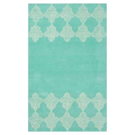 pbteen rug moroccan tile border rug pbteen