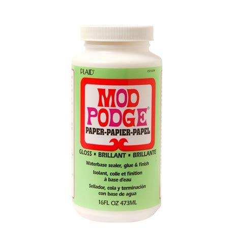 Decoupage And Mod Podge - mod podge 16 oz gloss paper cs11239 the home depot