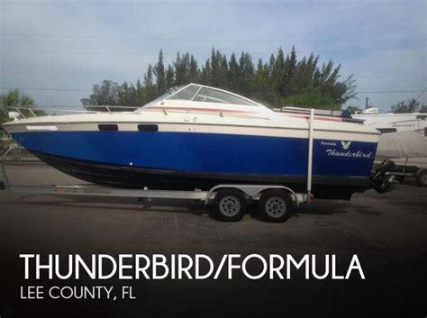 formula boats for sale in florida thunderbird formula boats for sale in florida