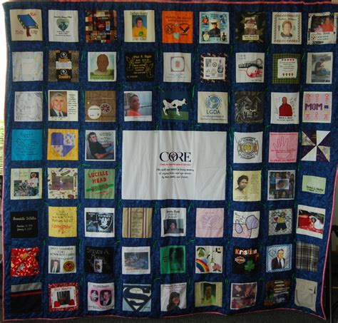Quilts With Photos by Remembrance Quilt Center For Organ Recovery