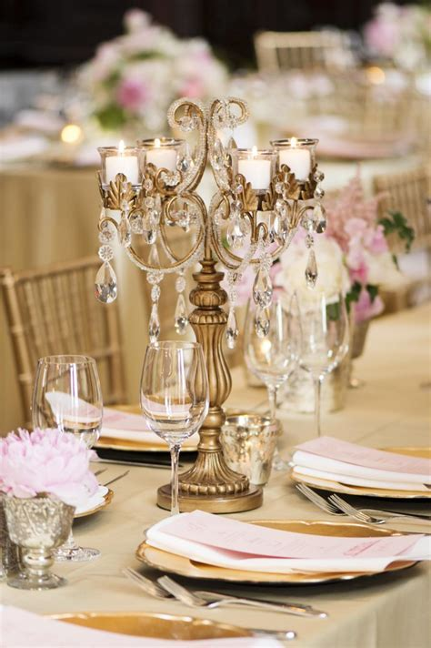 Classy, Elegant And Glamorous Gold Wedding Reception Ideas