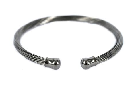 Bracelet jonc argent femme et homme