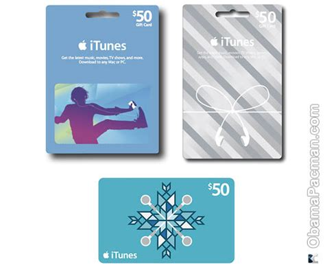 Itunes Gift Card App Store - 20 off 50 itunes app store gift card best buy sale obama pacman