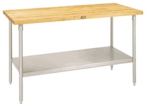 kitchen kitchen work table with shelves kitchen island trolley maple top work table with galvanized base and shelf