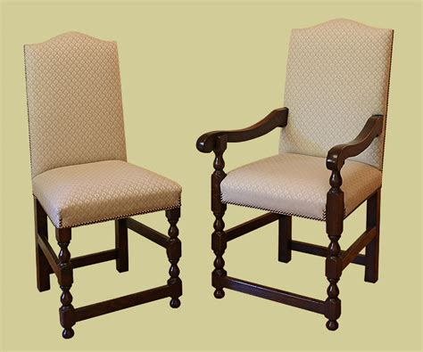 oak upholstered dining chairs for period table